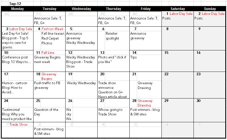 Expert feature how a social media editorial calendar for Campaign schedule template
