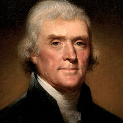 Thomas Jefferson quote on how to know who you are