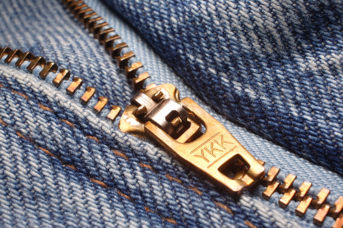 what does ykk on zippers mean