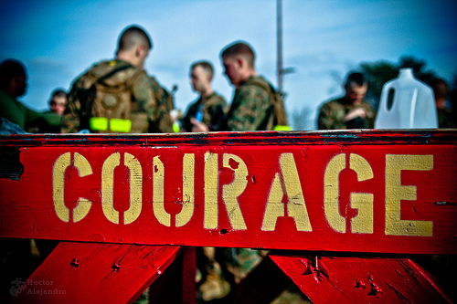 quotes about fear and courage