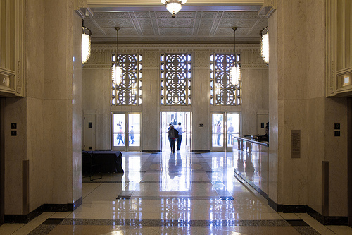 twitter 1355 Market St. entry way
