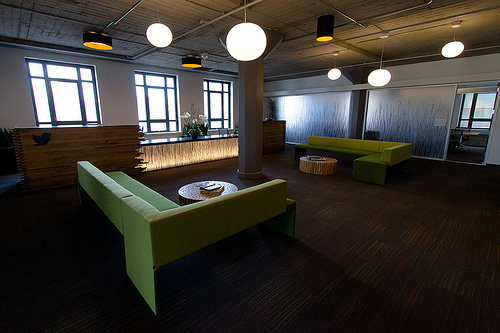 twitter san francisco reception area