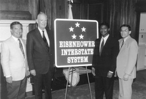 eisenhower interstate system, how interstate highways began