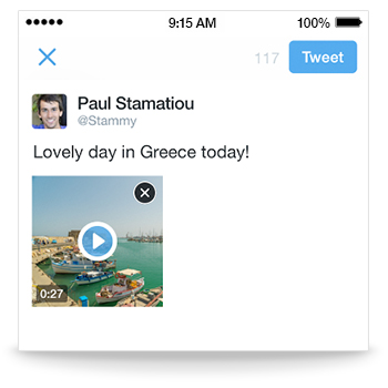 twitter's new feature - video