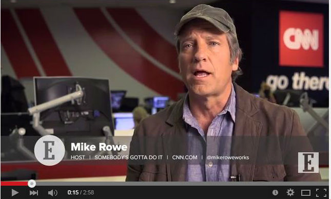 Mike Rowe, Dirty Jobs, Don't follow your passion video