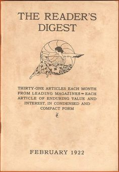 how reader's digest began, reader's digest uses content curation