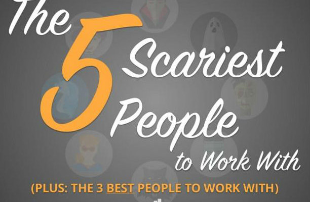 the 5 scariest people to work with