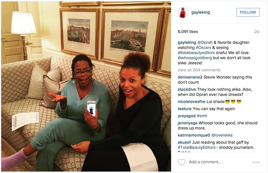 oprah about whoopi mix up