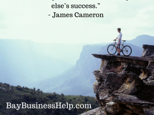 james cameron quote on setting goals
