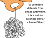 quotes about schedules, quotes about being organized
