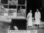 first pizza place, first pizzeria in u.s.