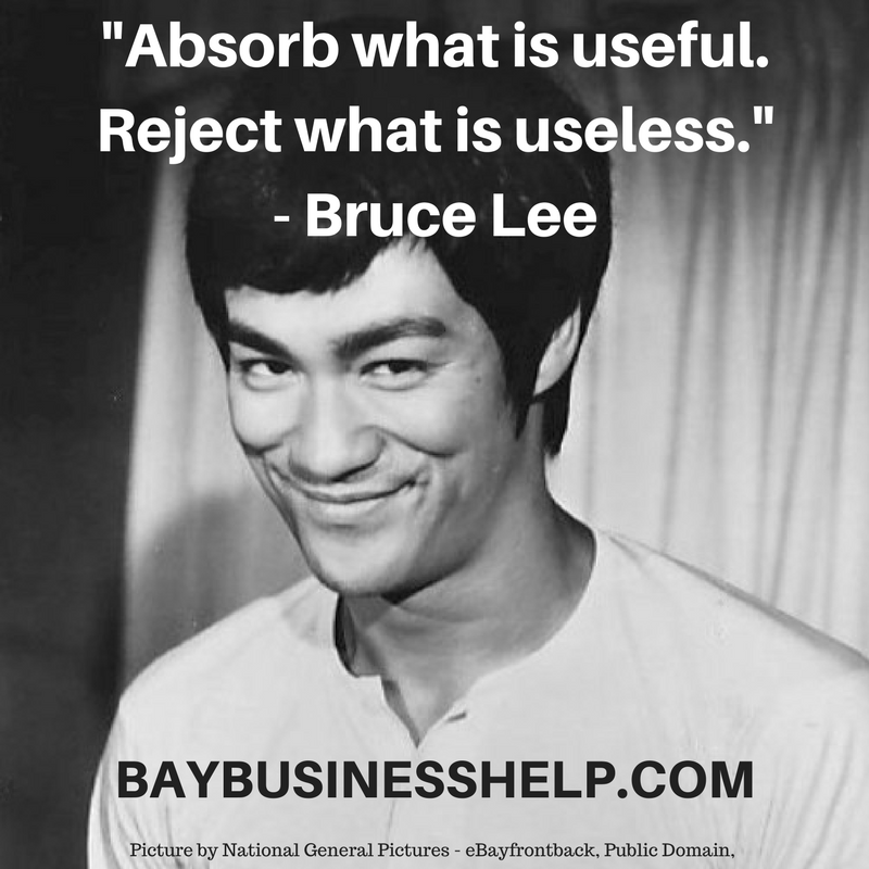 "Bruce Lee: ""Absorb what is useful…"" (Motivational Business ..."